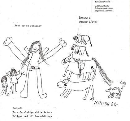 Adoption og Samfund, årgang 1, nr. 1 (1977)