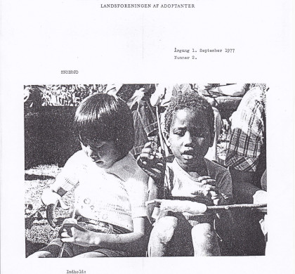 Adoption og Samfund, årgang 1, nr. 2