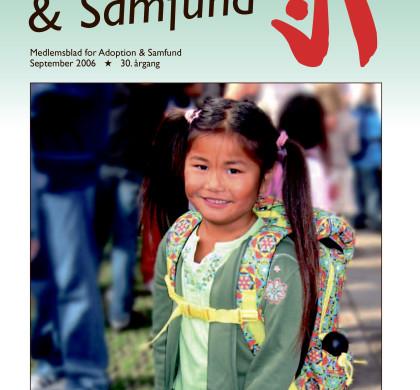Adoption og Samfund, årgang 30, nr. 4  (2006)