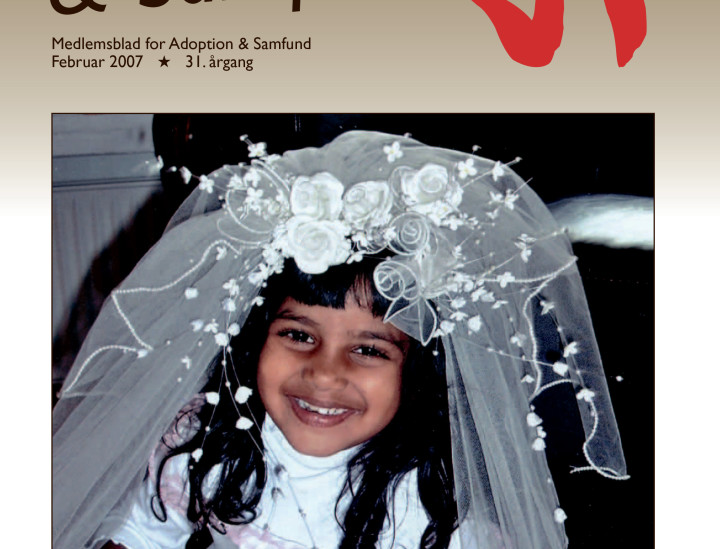 Adoption og Samfund, årgang 31, nr. 1 (2007)