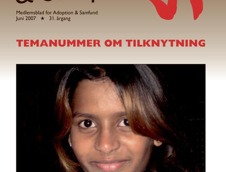 Adoption og Samfund, årgang 31, nr. 3 (2007)