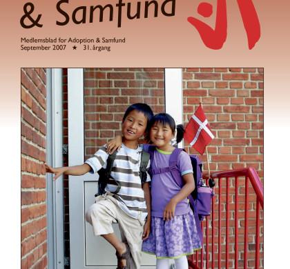 Adoption og Samfund, årgang 31, nr. 4 (2007)