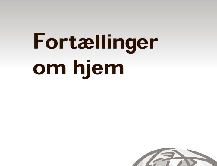 Adoption og Samfund, årgang 31, nr. 6 – TILLÆG (2007)