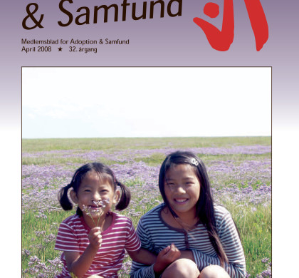 Adoption og Samfund, årgang 32, nr. 2 (2008)
