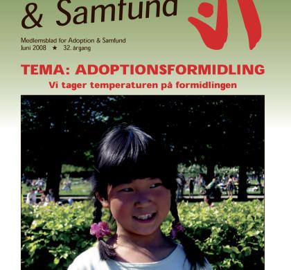 Adoption og Samfund, årgang 32, nr. 3 (2008)