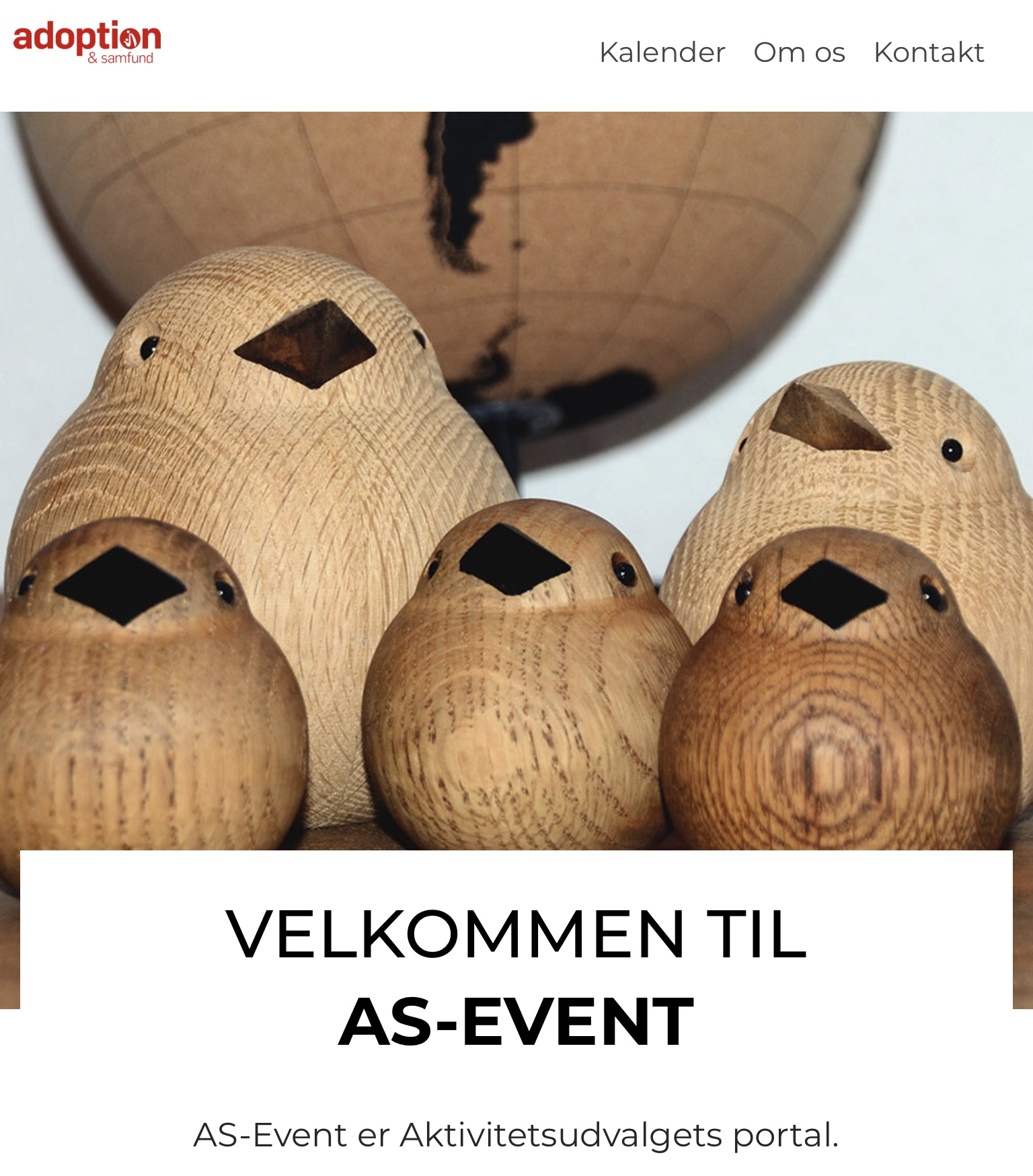 AS-Event.dk – Aktivitetsudvalgets nye platform